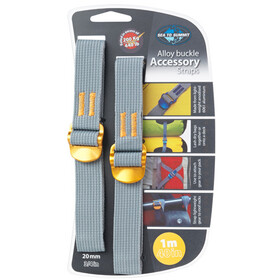 Sea to Summit Alloy Buckle Accessory Straps 20mm/1m, yellow